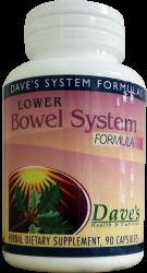 Lower Bowel System Herbal Formula