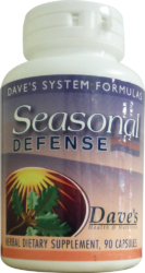 Seasonal Defense Herbal Formula