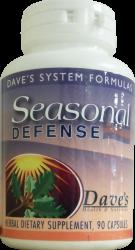 Seasonal Defense Herbal Formula